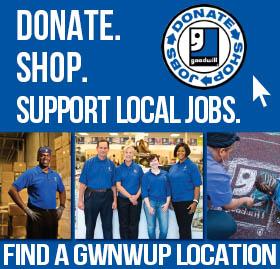 Donate & Shop at Goodwill NWUP