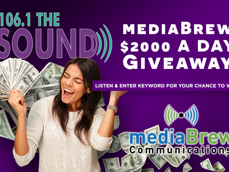The mediaBrew Communications $2000 A Day Giveaway Featured Image